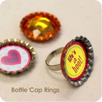 Bottle Cap Rings