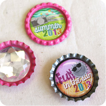 Bottle Cap Designs