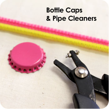 Bottle Cap Crafts - Crafts for Boys